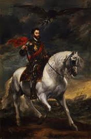 Deathe of Charles V