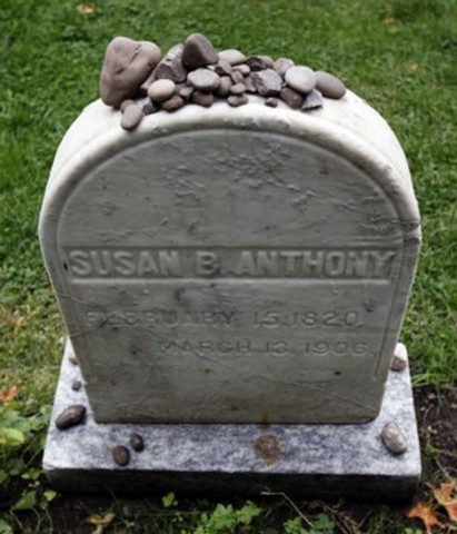 Susan B. Anthony passes away.