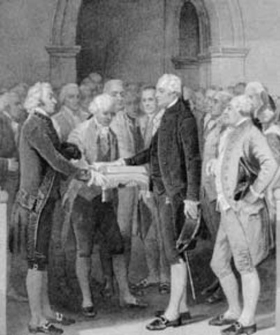 First inauguration of Thomas Jefferson