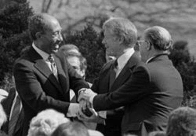 1979 Egypt–Israel Peace Treaty (Egypt gets back Sinai)