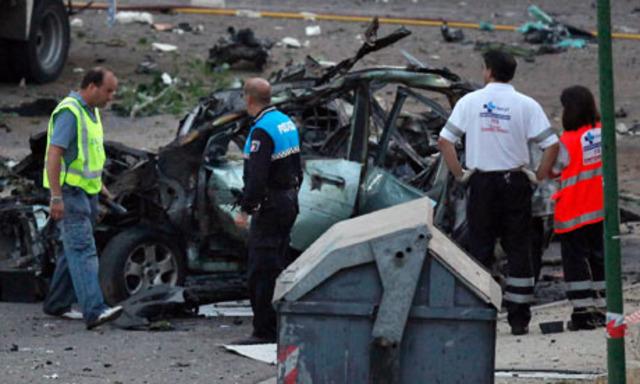Explosión de Bomba de Carro