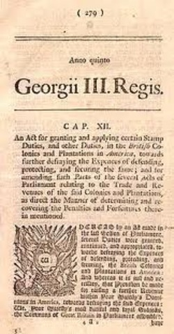 Repeal of the Stamp Act
