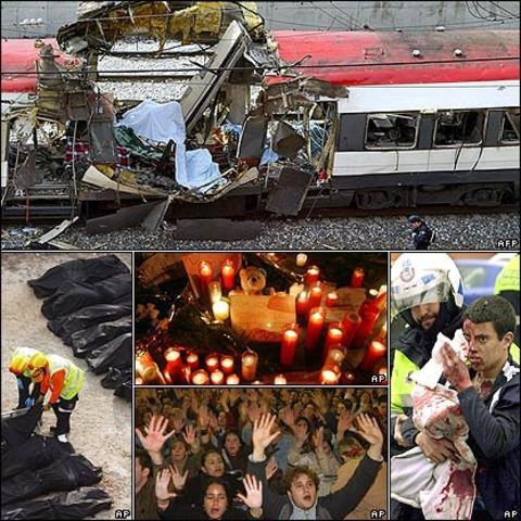 Atentado con Bomba de Tren en Madrid