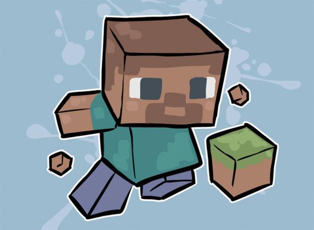 Minecraft When i started
