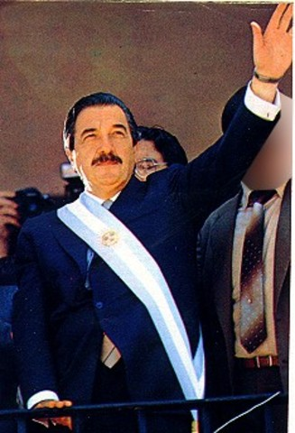 Raúl Alfonsín - Víctor Martínez