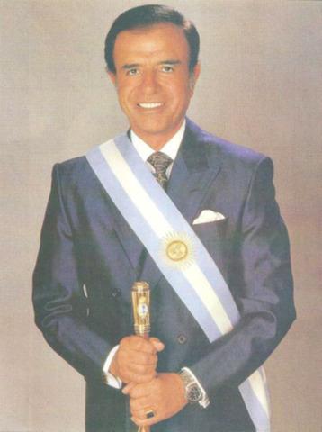Carlos Saúl Menem - Eduardo Dualde (renuncia)
