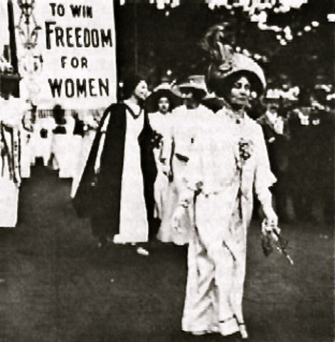 Formation of National Woman Suffrage Association