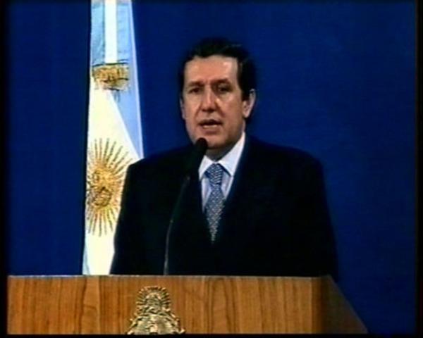 Ramón Puerta - Provisional (Presidente del Senado)