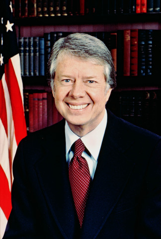Jimmy Carter is elected president
