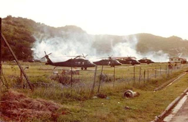Troops to Grenada