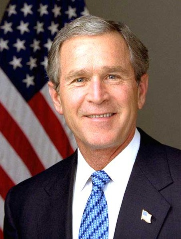 George W. Bush wins presidential election
