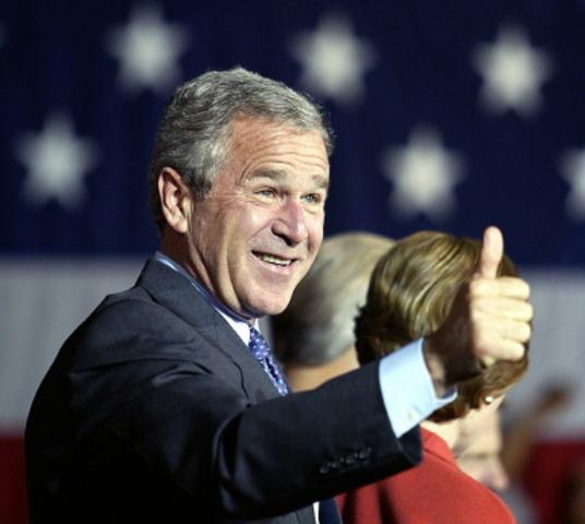 Bush reelected!