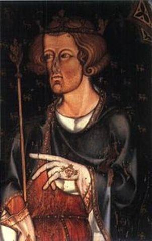 Death of King Edward I