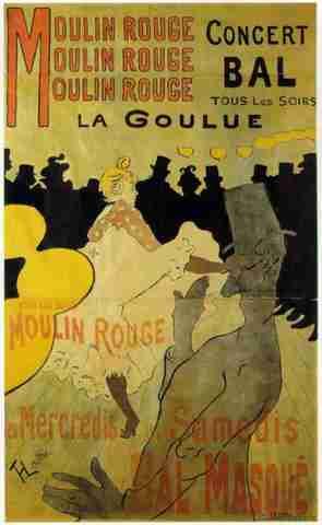 Henry Toulouse-Lautrec, (1864-1901)