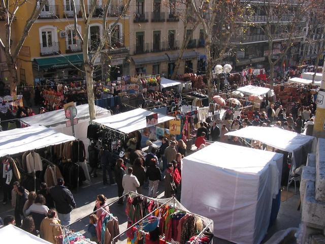 El Rastro de Madrid empezó a ser una realidad