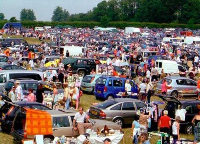 En la decada de los 70 nacen los Car Boot Sales en Reino Unido