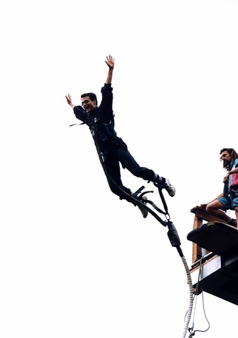 Modern Bungy jumping