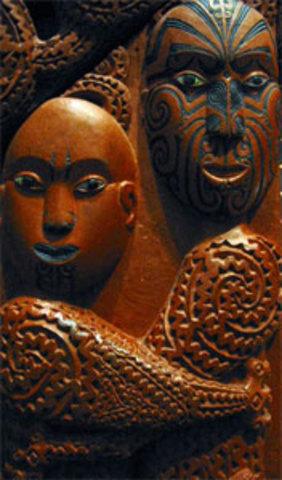 Maori Legends ranganui and papatuanuku