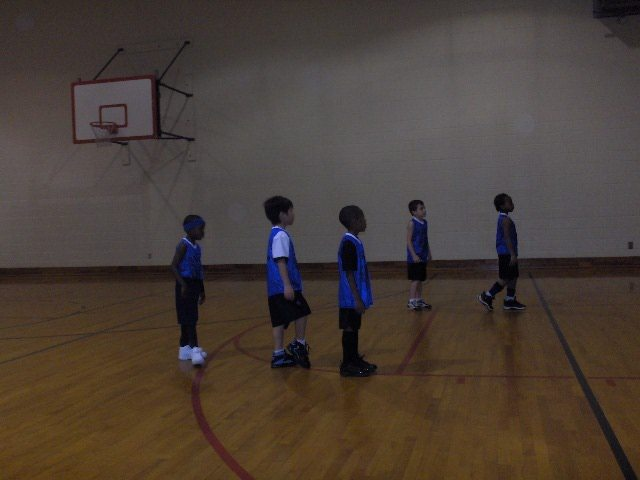 My first time Basketball Game at the YMCA
