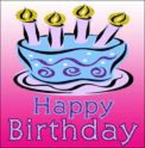 My 5th Birthday