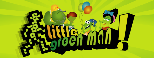 Little Green Man Intro Animation