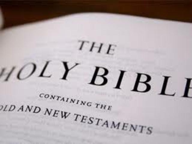 Johannes Gutenberg prints the Gutenberg Bible