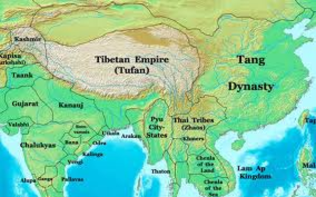 The Tang Dynasty is a large population