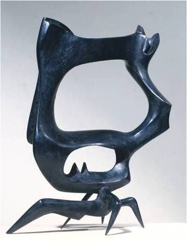 Bernard Meadows, Black Crab, 1951-52