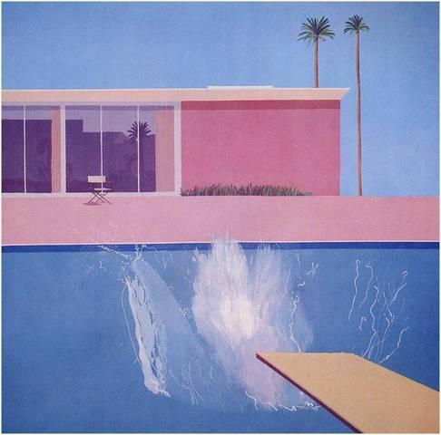 David Hockney. A Bigger Splash, 1967
