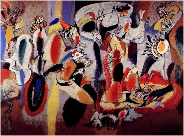 Arshile Gorky. The Liver is the Cock's Comb, 1944
