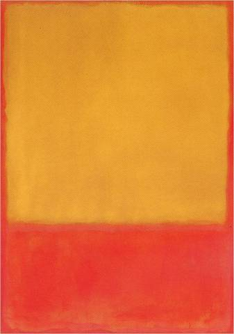 Mark Rothko. Ochre and Red on Red, 1954