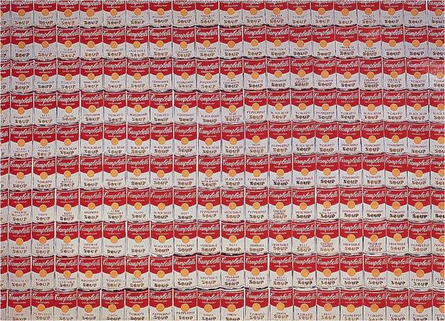 Andy Warhol. 200 Campbell Soup Cans, 1962