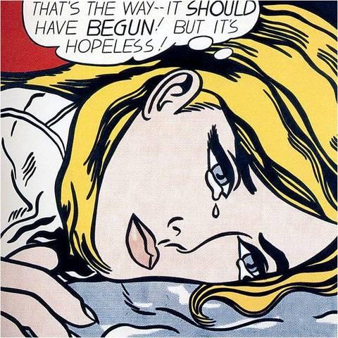 Roy Lichtenstein. Hopeless, 1963