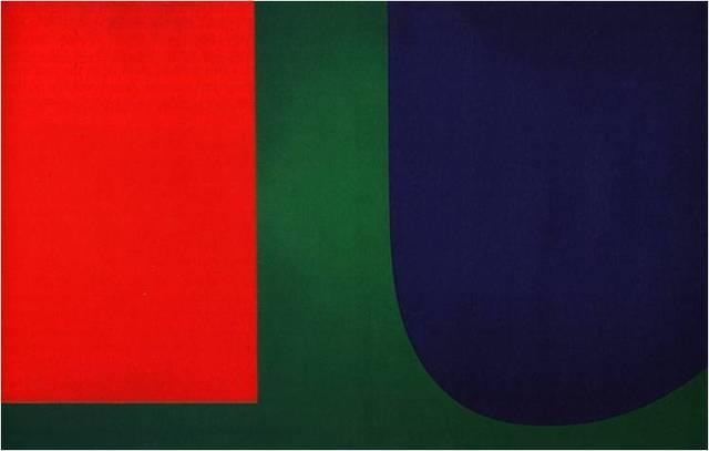 Ellsworth Kelly, Red, Blue, Green, 1963