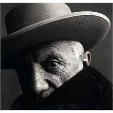 Irving Penn. Pablo Picasso, Cannes, France, 1957