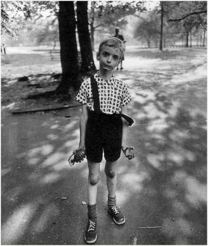 Diane Arbus. Child with Toy Hand Grenade, New York, 1962