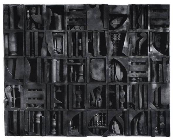 Louise Nevelson, Black Chord, 1964