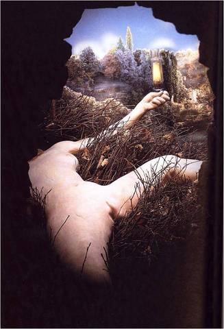 Marcel Duchamp. Etant Donnes: 1. La chute d'eau, 2. Le gaz d'eclairage,  1946-1966