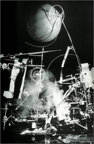 Jean Tinguely. Homage to New York, 1960