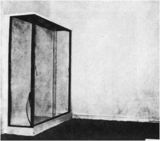 Yves Klein. Le Vide (The Void), 1958