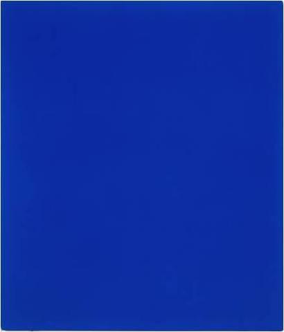 Yves Klein. International Klein Blue 79, 1959