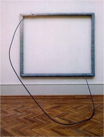 Eva Hesse. Hang-Up, 1965-66