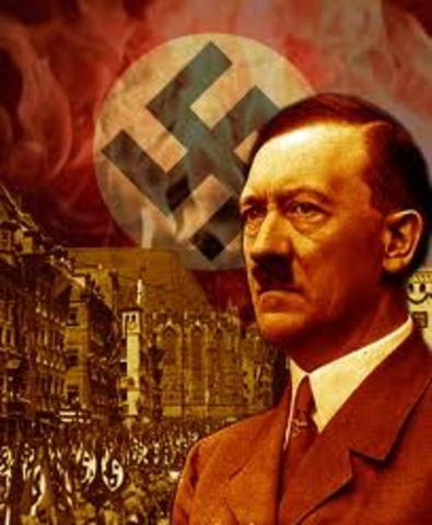 Adolf Hitler becomes leader of the nazi party.