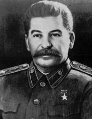 Josef Stalin sole dictator of the Soviet Union