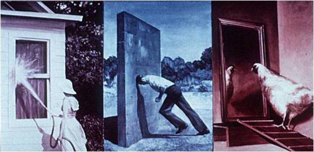 Mark Tansey. A Short History of Modernist Painting, 1979-1980