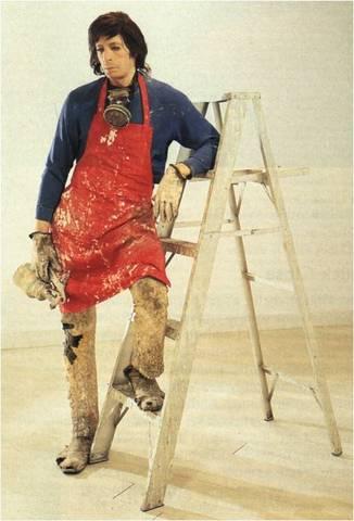 Duane Hanson. Artist with Ladder,1972