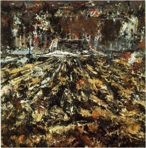 Anselm Kiefer. To the Unknown Painter, 1983