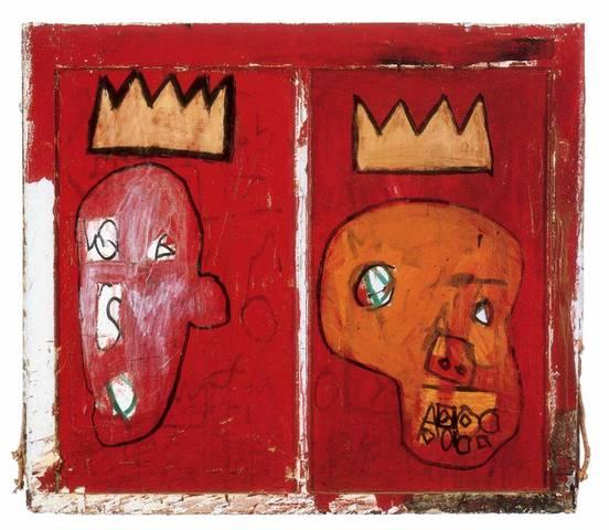 Jean-Michel Basquiat. Red Kings, 1981