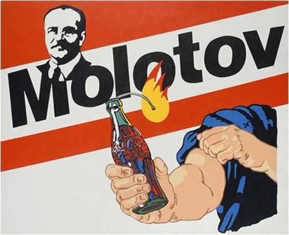 Alexander Kosolapov. Molotov Cocktail, 1989