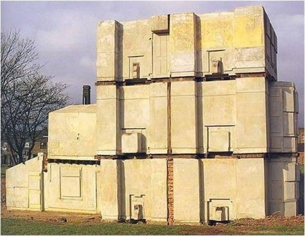 Rachel Whiteread. House, 1992